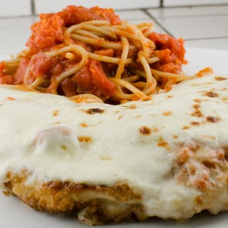 Broiled Chicken Parm