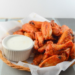 Sriracha Buffalo Wings
