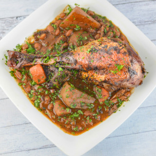 Braised Turkey Leg Stew