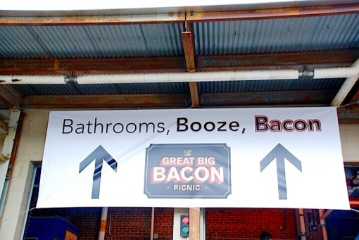 bathroom,booze,bacon