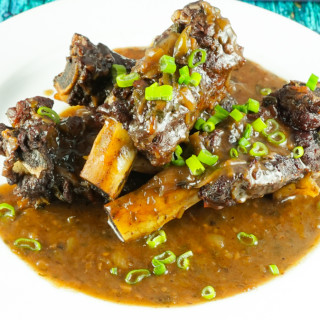 Pressure Cooker Asian Beef Ribs